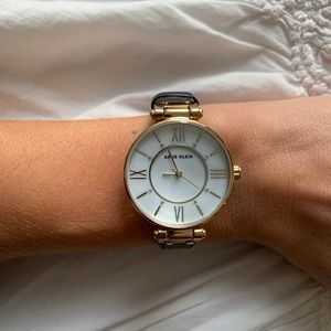 Anne Klein Gold Hardware Watch